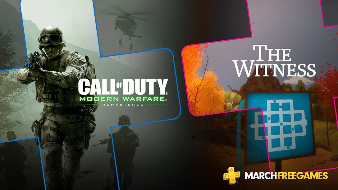 PlayStation Plus: Jogos Gratuitos Para Março de 2019