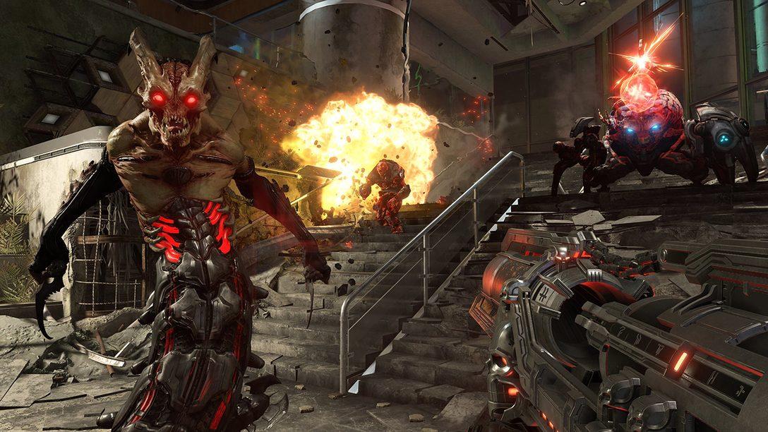 Torne-se um Slayer Melhor com a Jogabilidade Vitaminada de Doom Eternal