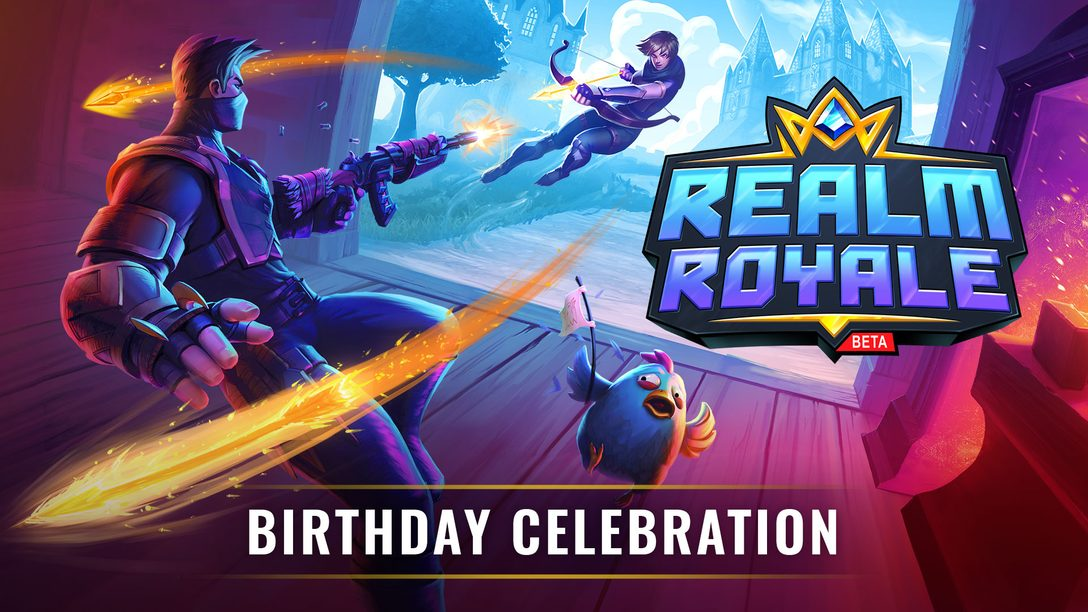Realm Royale Comemora seu Primeiro Aniversário com Atualizações e Brindes