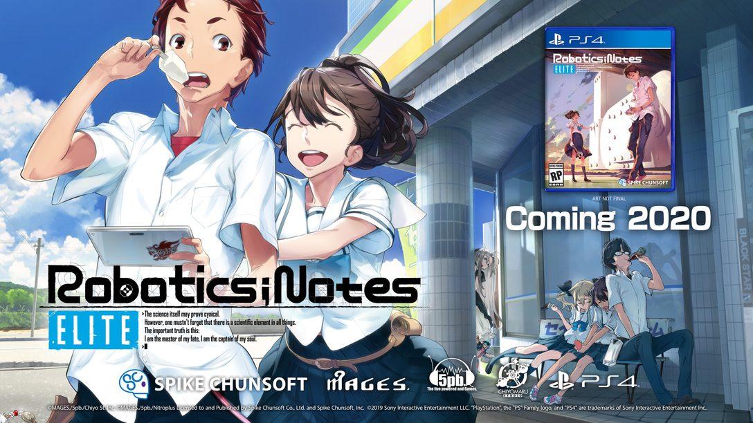 Três Novos Títulos Spike Chunsoft Anunciados na Anime Expo 2019