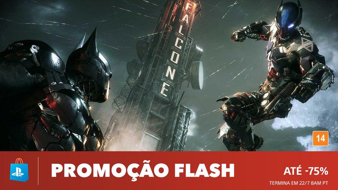 Promoção Flash! Descontos de até 75% na PS Store