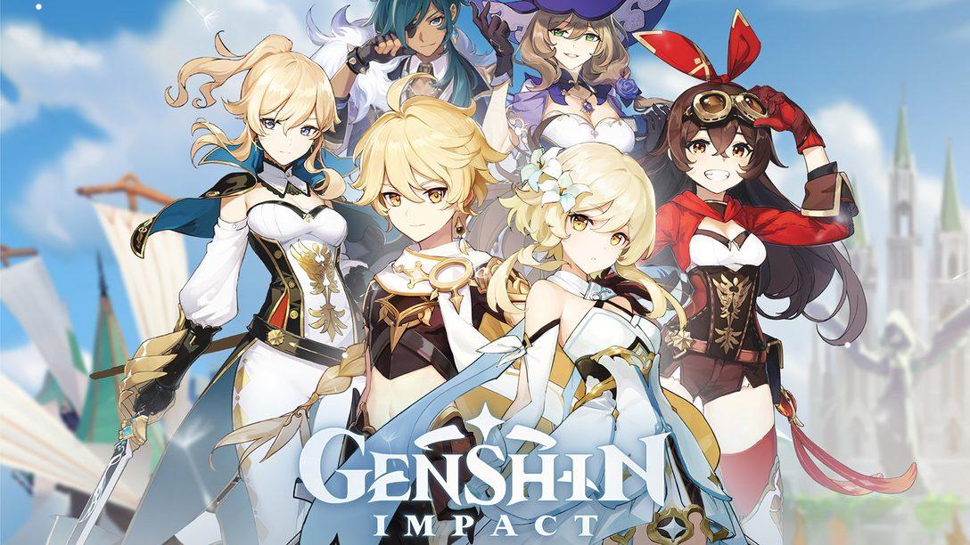 Genshin Impact: Aventura de Mundo Aberto Chega ao PS4 em 2020