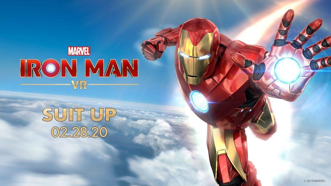 Marvel's Iron Man VR Será Lançado em 28 de Fevereiro de 2020!