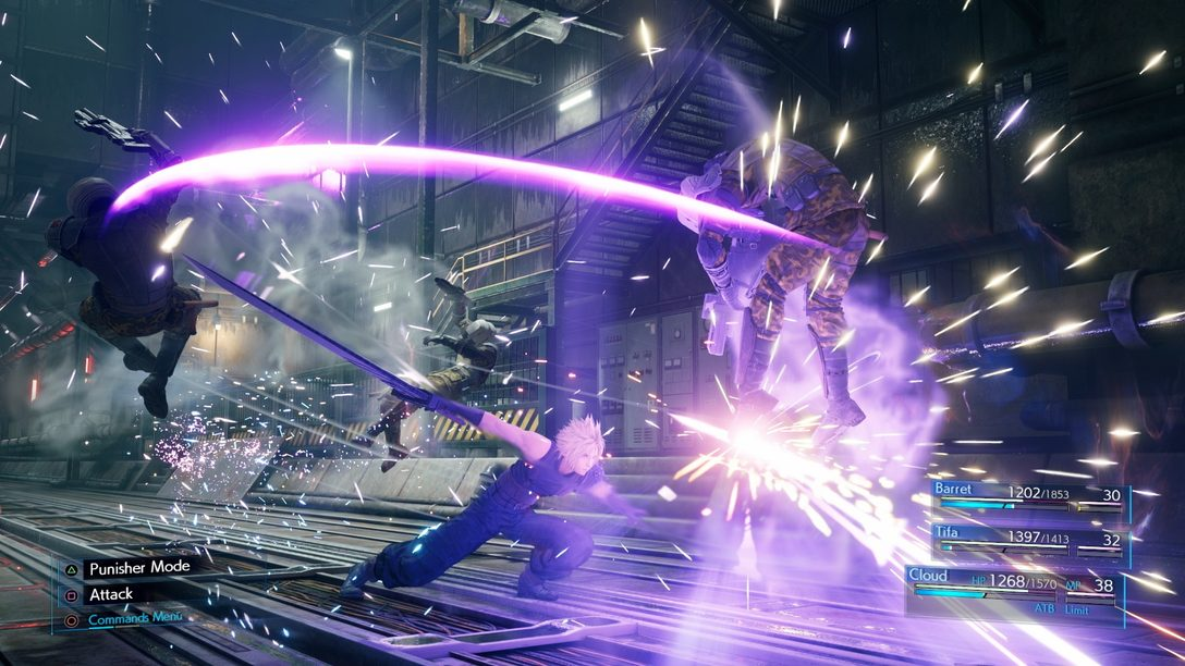 Novas Screenshots de Final Fantasy VII Remake Trazem Cloud, Combate e Mais