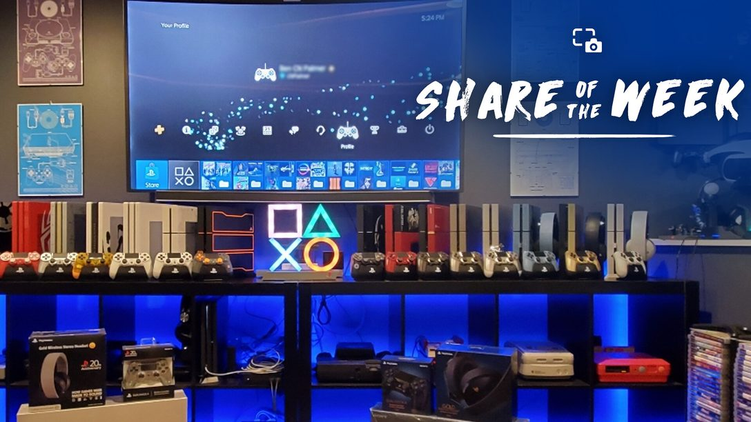Share of the Week – Cantinho PS4
