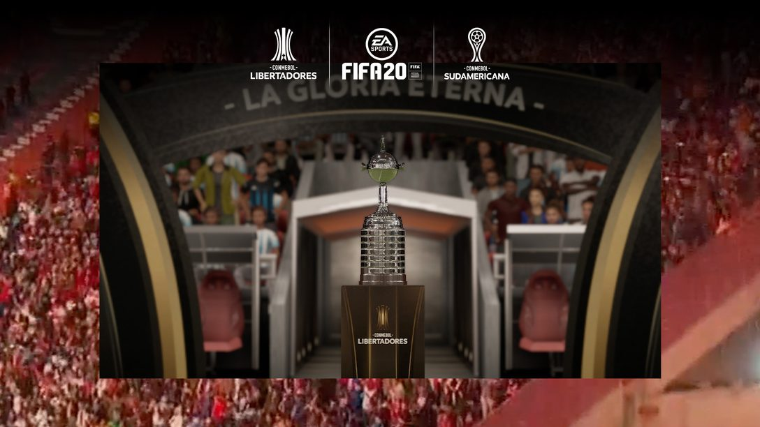 Jogue a Conmebol Libertadores exclusivamente em FIFA 20 a Partir de 3 de Março