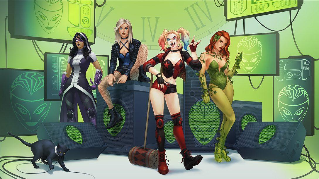 As Aves de Rapina Chegam a DC Universe Online em Abril