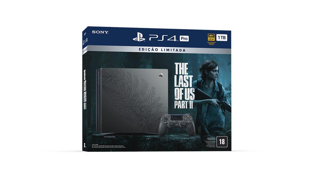Comemoramos The Last of Us Part II Com uma Edição Limitada Temática de PS4 Pro e Muito Mais