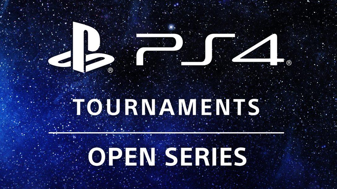 A Competição Continua com a PS4 Tournaments: Open Series