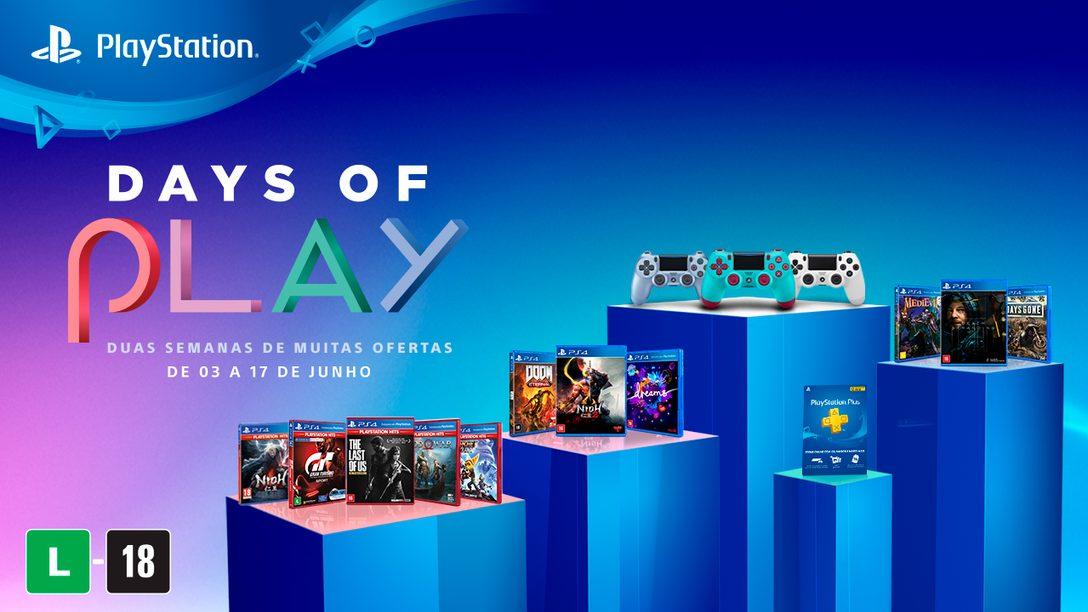 Days of Play 2020: Descontos Épicos em Jogos e Muito Mais