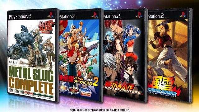 PS3®で名作を楽しめるSNKプレイモア「PS2®アーカイブス」に『メタルスラッグ コンプリート』『KOF NEOWAVE』など4タイトルが登場!