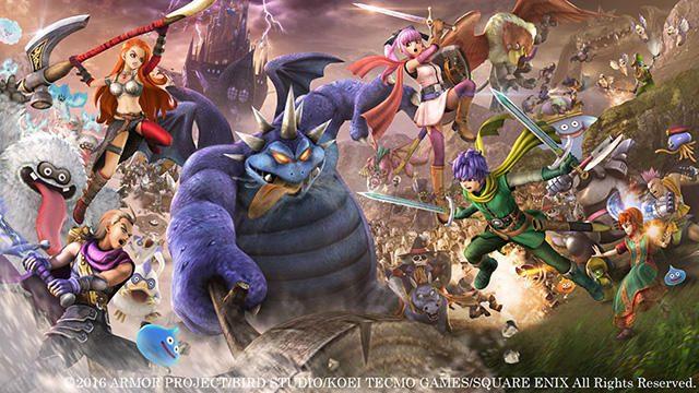 『ドラゴンクエストヒーローズⅡ』5月27日発売! 登場人物&舞台が明らかに!