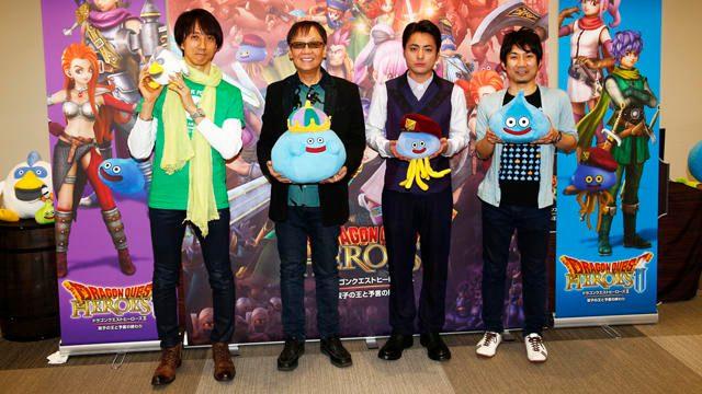 堀井雄二&山田孝之も出演! 「ドラゴンクエストヒーローズ・ザ・LIVE!@キャスト発表特番」公開生放送レポート