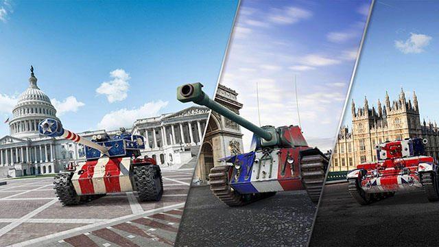 戦車運用100周年記念で『World of Tanks』に米・英・仏のヒーロー車輌が登場! 期間限定で販売中!