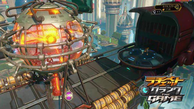 爆弾を積んだ列車を止めろ! PS4®『ラチェット&クランク THE GAME』プレイ動画第2弾を公開!!