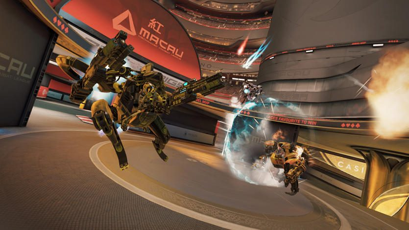 【PS VR】対戦型VRロボットアクションスポーツ開幕! 『RIGS Machine Combat League』最新プレイレポート!