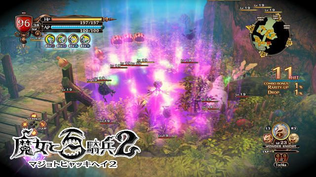 強大な力を持つ魔女たちと、戦闘システムを紹介!『魔女と百騎兵2』【特集第2回/電撃PS】