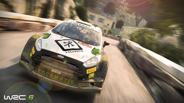 WRC公式レースゲームPS4®『WRC 6』3月23日発売! リアルなグラフィック表現でレースの緊張感までも再現!