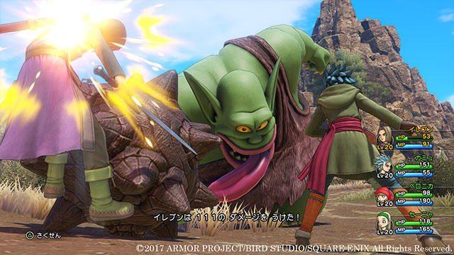 PS4®『ドラゴンクエストXI』は好みの戦闘スタイルが選べる! バトルシステム&旅の仲間を紹介