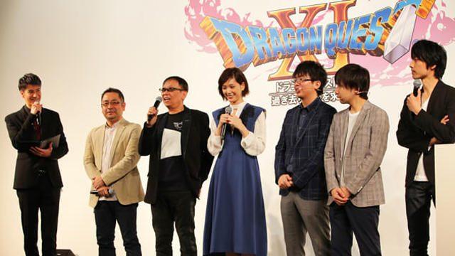 実機デモプレイに本田翼さんも興奮! 『ドラゴンクエストXI 過ぎ去りし時を求めて』発売日発表会レポート