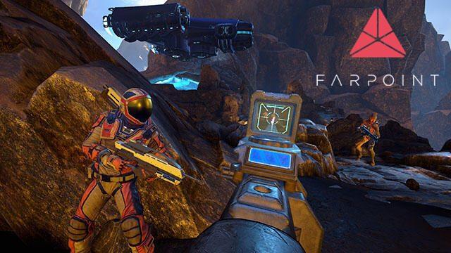 【PS VR】リアル体感型シューティング『Farpoint』本日発売! 迫力のキャンペーンモードをレビュー!