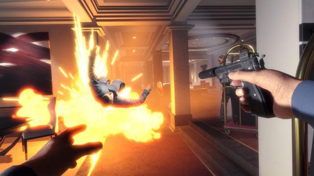 【PGW 2017】アクション映画の世界を満喫できる圧倒的な臨場感! PS VR『Blood & Truth』プレイレポート