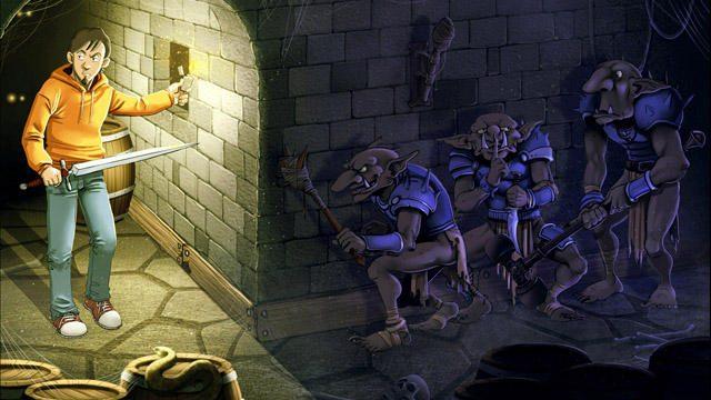 気がつけばそこは異世界の城……TRPGマニアが奮戦するRPG『アンエピック-オタクの小さな大冒険』