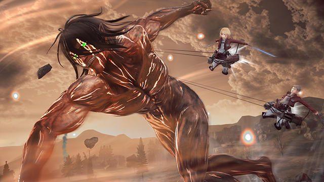 強化された『進撃の巨人2』の戦闘アクションで巨人を駆逐せよ! 新たな追加プレイアブルキャラも公開!