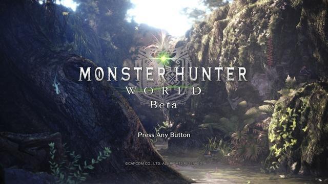 PS4®『モンスターハンター:ワールド』第2回ベータテストを12月23日午前2時(予定)より実施!