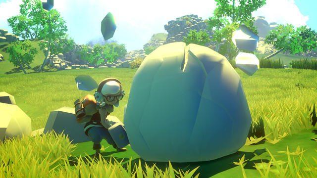 謎とロマンに満ちた島が舞台のアクションアドベンチャー『Yonder 青と大地と雲の物語』本日配信!