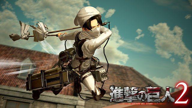 本日発売『進撃の巨人2』の兵士育成要素に注目! 共闘・対戦が可能なオンラインプレイも!【特集第3回】