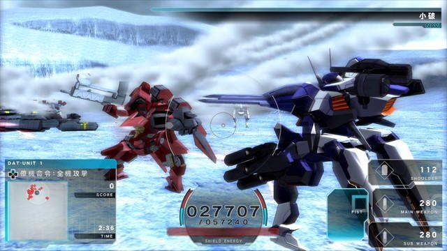 本日発売『ASSAULT GUNNERS HD EDITION』でHD画質のハイスピードロボットアクションを体感!