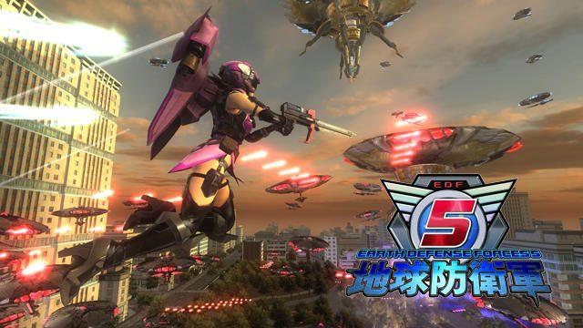 『地球防衛軍5』の追加ミッションパック第2弾配信! EDFの新兵器で強敵たちを迎え撃て!
