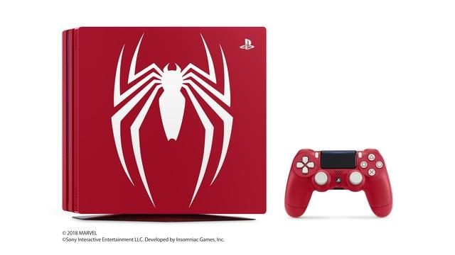 「PlayStation®4 Pro Marvel's Spider-Man Limited Edition」を数量限定で9月7日より国内で発売!