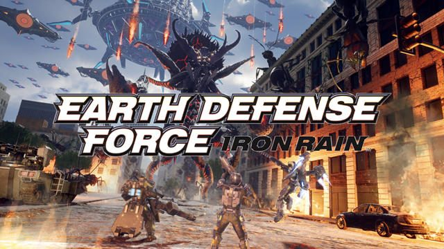【PS LineUp Tour】『EARTH DEFENSE FORCE: IRON RAIN』最新映像に新たな巨大怪獣や巨大生物の存在を確認!