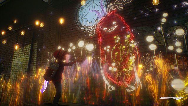 """""""絵で遊ぶ""""アクションアドベンチャー『アッシュと魔法の筆』がPS4®に登場! 世界を彩り""""友達""""と探検しよう!"""