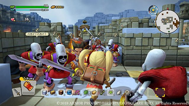 『ドラゴンクエストビルダーズ2』で待ち受けるハーゴン教団の軍勢! 新たな冒険の地は終わらない戦いの島