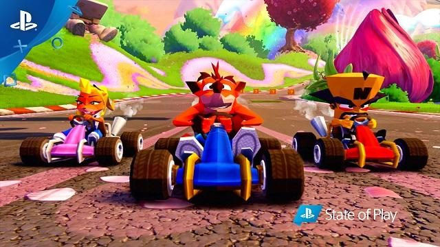 PS4®限定コンテンツ! 『Crash Team Racing : Nitro Fueled』