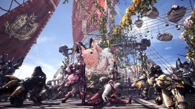『モンスターハンター:ワールド』に祭りの季節が訪れる! 4月26日より「アステラ祭【開花の宴】」が開催!