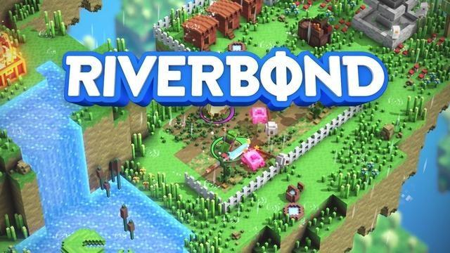 撃ったり斬ったりしながらボクセル世界を探索するインディーズのクロスオーバーゲーム『Riverbond』が登場
