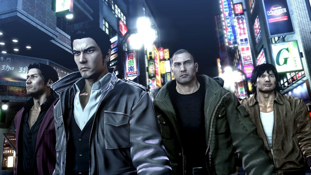 PS4®版『龍が如く5 夢、叶えし者』本日発売! 5人の主人公と全国5大都市で、熱きドラマを楽しめる。