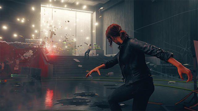『CONTROL』本日発売! 異界と化したビルで超能力と変形する銃を駆使して戦うアクションアドベンチャー!