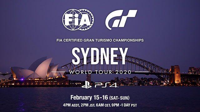 「FIA グランツーリスモ チャンピオンシップ2020」のワールドツアー第1戦を2月15日と16日にライブ配信!