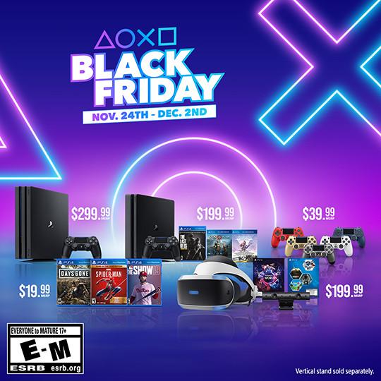 Playstation 2019 Black Friday Cyber Monday Deals Revealed Playstation Blog