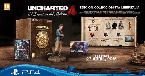 Edición Libertalia de Uncharted 4