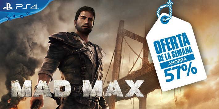 Disfruta de Mad Max para PS4 con un 57 % de descuento.