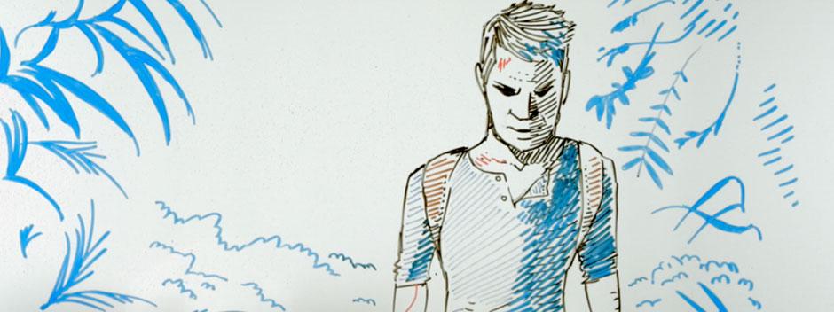 Draw my life de Nathan Drake