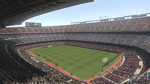 PES 2017 Camp Nou